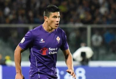 Facundo Roncaglia, 28 anni, difensore argentino della Fiorentina (INFOPHOTO)