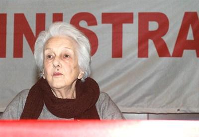 Rossana Rossanda, fondatrice del Manifesto (InfoPhoto)