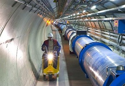 Il tunnel dell'LHC del Cern