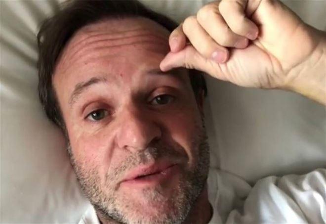 Rubens Barrichello ha avuto un tumore
