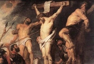 Rubens, Crocifissione (1619) (Immagine d'archivio)