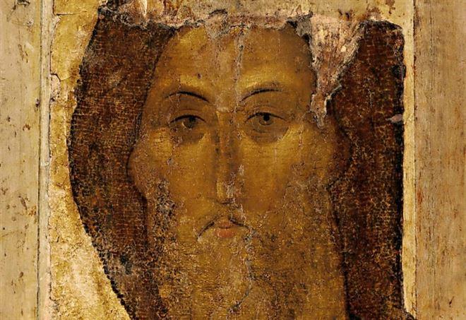 Andrej Rublëv, Cristo Salvatore (XIV sec.)