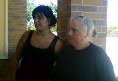 Le due donne accusate della morte di Sarah Scazzi, foto InfoPhoto
