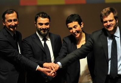 Primarie Pd Milano, i quattro candidati (Infophoto)