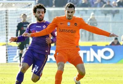 Mohamed Salah (sinistra), 23 anni e Davide Zappacosta, 23 (INFOPHOTO)
