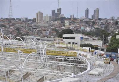 L'Arena Fonte Nova di Salvador (INFOPHOTO)