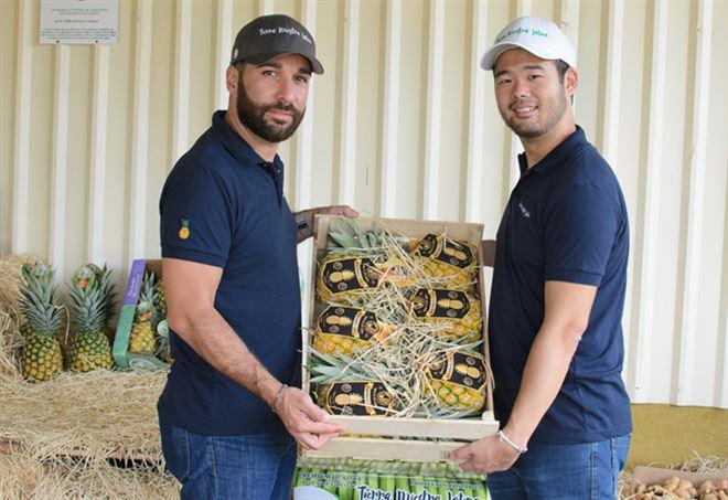 Salvatore Ponzo e David Wang: presidente e vice della Tierra Nuestra Latina (Foto da sito azienda)