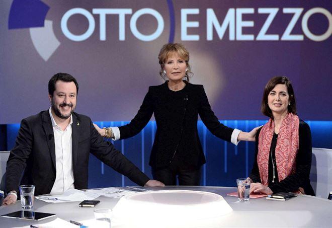 Boldrini contro salvini duello in tv la presidente della for Diretta tv camera deputati