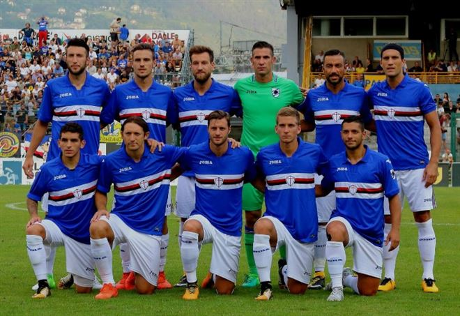 Seconda Maglia Sampdoria NICOLA MURRU