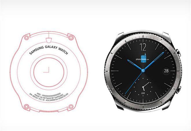 La foto del nuovo Samsung Galaxy Watch