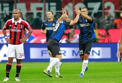 Walter Samuel ha deciso il derby d'andata (Infophoto)