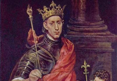 San Luigi re di Francia, El Greco