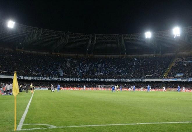 Diretta Napoli-Benevento, LaPresse