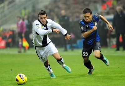 Nicola Sansone, attaccante Parma (Foto Infophoto)