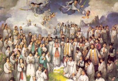 Un'immagine dei Santi Martiri Coreani