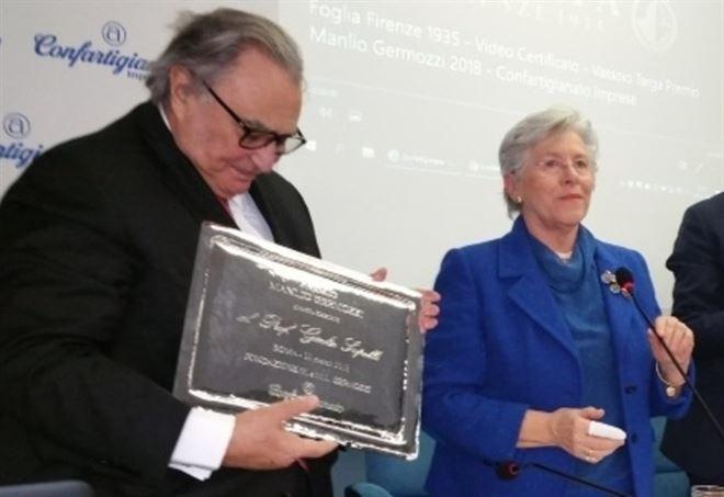 Giulio Sapelli riceve il Premio Germozzi 2018