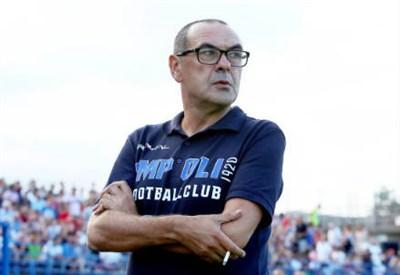 Sarri, allenatore del Napoli (Infophoto)