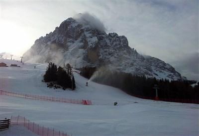 Un'immagine della pista (da Facebook Saslong Ski Resort - Val Gardena)