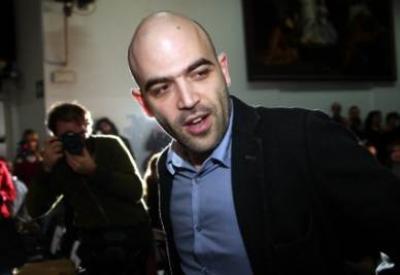 Roberto Saviano (Foto InfoPhoto)