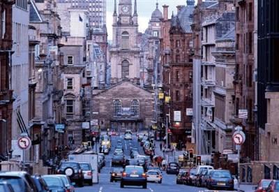 Scorcio di Glasgow (Immagine dal web)
