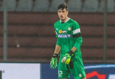 Scuffet portiere dell'Under 19 - Infophoto