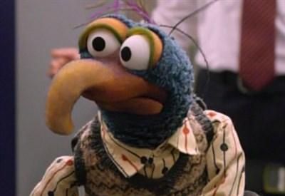 Gonzo del Muppet Show (Immagine d'archivio)