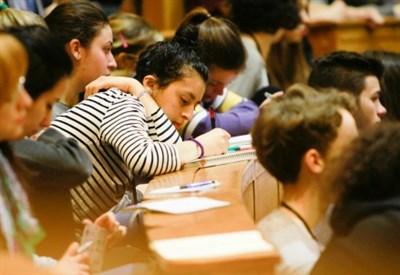 Studenti alle Romanae Disputationes (Foto d'archivio)