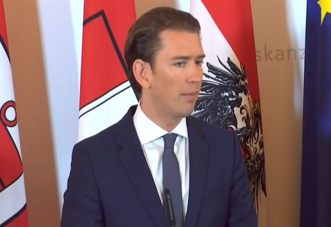 Sebastian Kurz, cancelliere austriaco