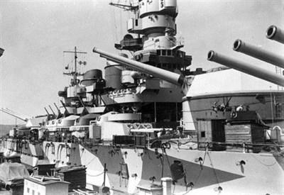 La corazzata Roma (Immagine d'archivio)