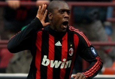 Clarence Seedorf (foto Ansa)