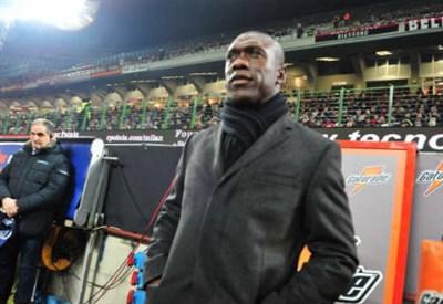 Clarence Seedorf, allenatore del Milan (Foto Infophoto)