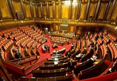 L'aula del Senato (Infophoto)