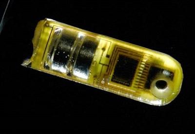 Un sensore a infrarossi grande come una pillola