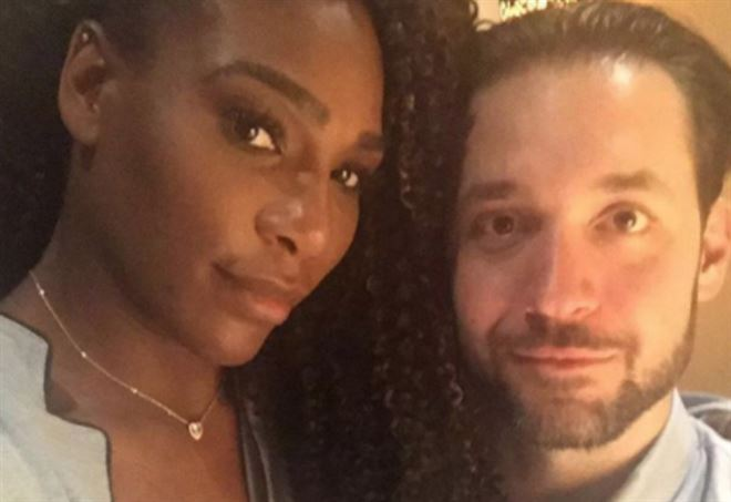 Serena Williams e Alexis Ohanian (Instagram)