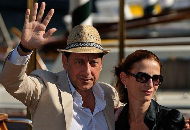 Sergio Castellitto, con la moglie Margaret Mazzantini (Wikipedia)