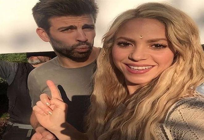 Shakira e il marito Gerard Piqué