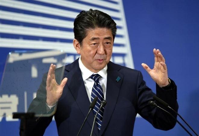 Shinzo Abe (Foto da Lapresse)