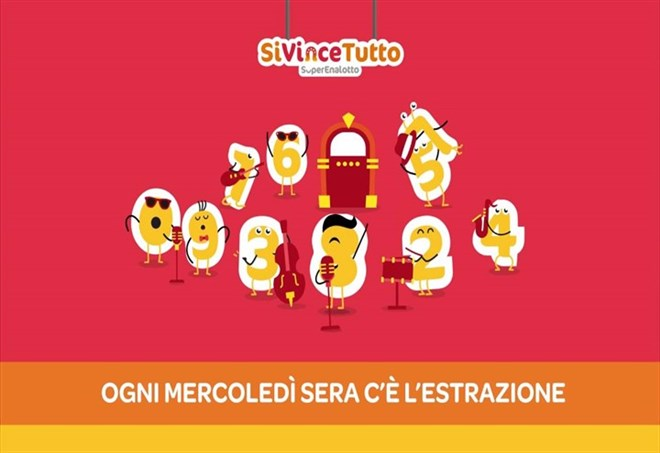 Estrazione del SiVinceTutto Superenalotto (web)