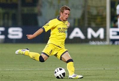 Francesco Signori, 24 anni, centrocampista del Modena (INFOPHOTO)