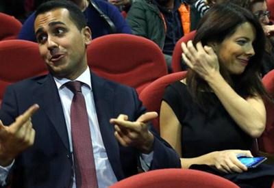 Silvia Virgulti e Luigi Di Maio