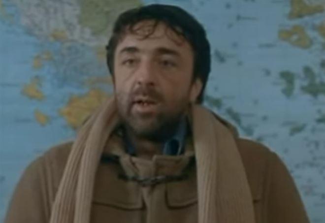 Silvio Orlando sul set del film
