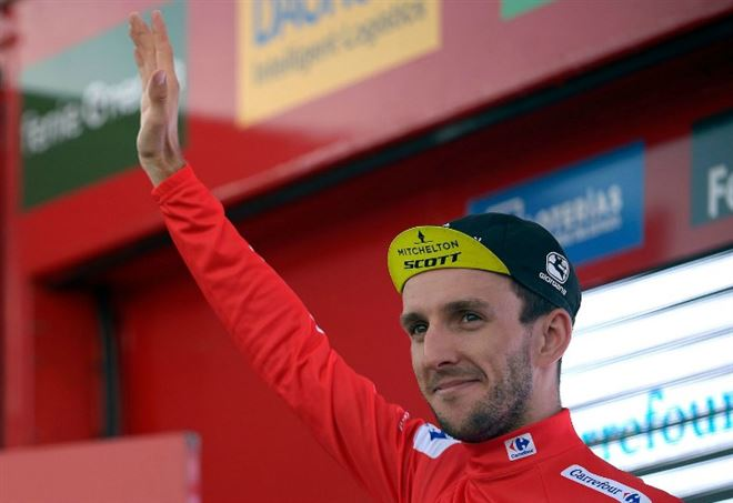 Classifica Vuelta: Simon Yates (LaPresse)