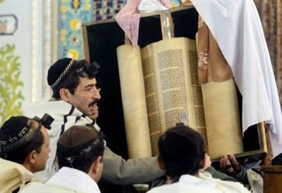 La preghiera in una sinagoga