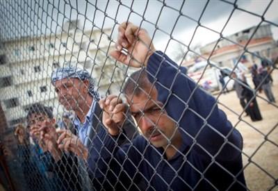 Rifugiati a Kobane (Infophoto)