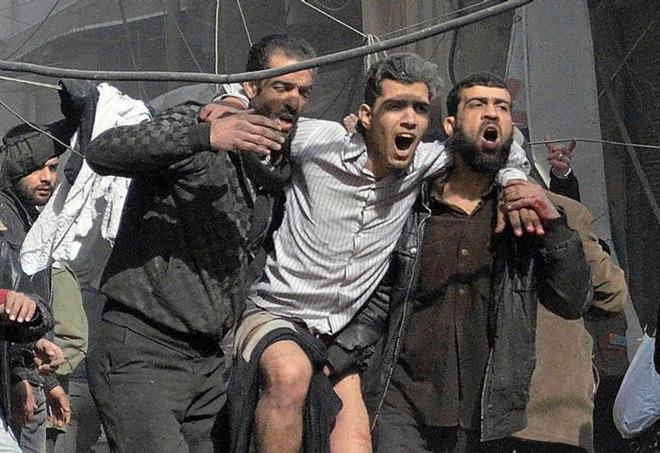 In Siria (LaPresse)