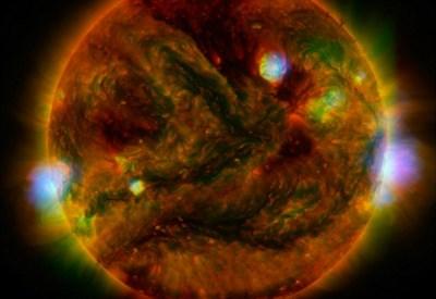 La nuova immagine del Sole