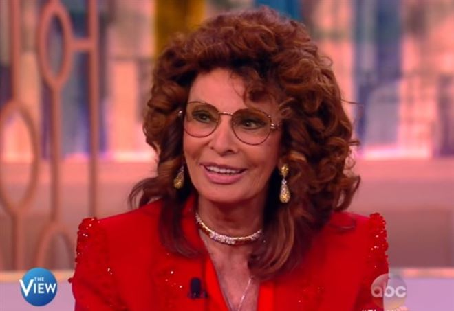 Sophia Loren a The View, Abc