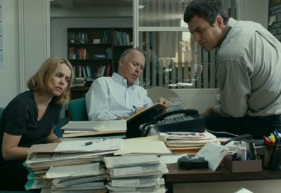 Il caso Spotlight, una scena del film