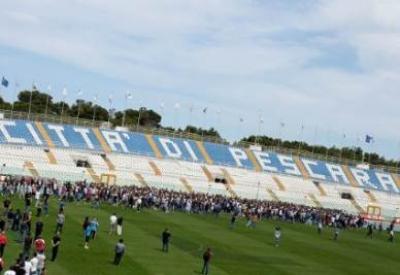 Lo stadio di Pescara (Foto: Infophoto)