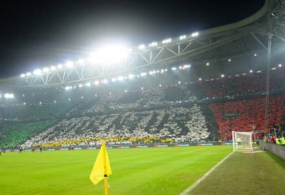 Oggi lo Juventus Stadium ospita il derby d'Italia (Infophoto)